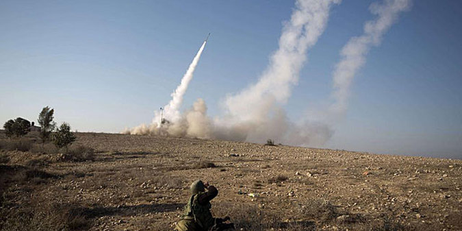 israel-rocket