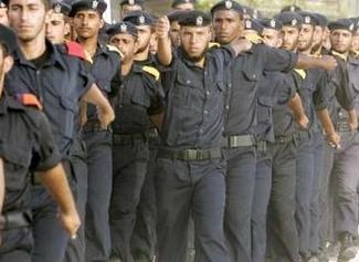 police-palestine