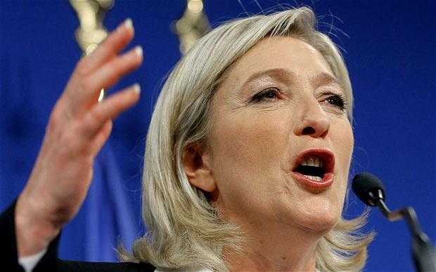 Le Pen señala al sistema económico ultraliberal como culpable del fracaso de la selección francesa