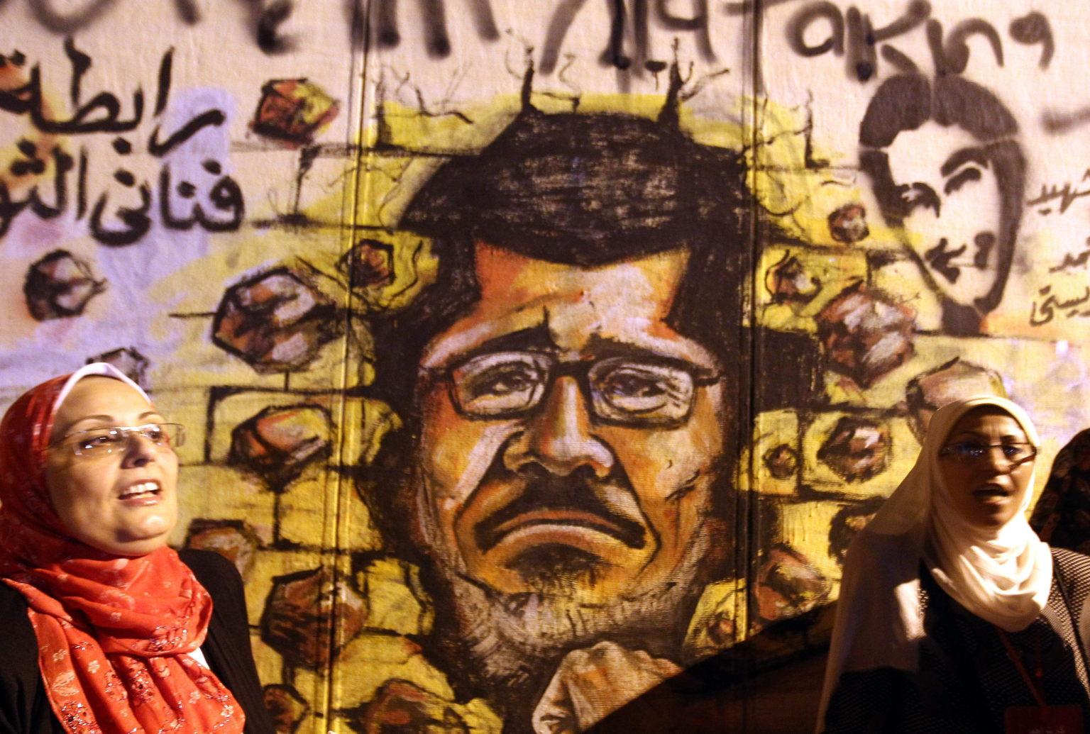 PROTESTAS DE OPOSITORES DEL PRESIDENTE MORSI EN EL CAIRO