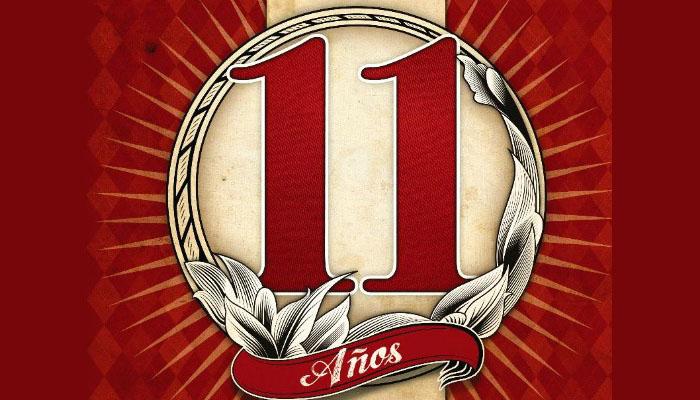 11 aniversario