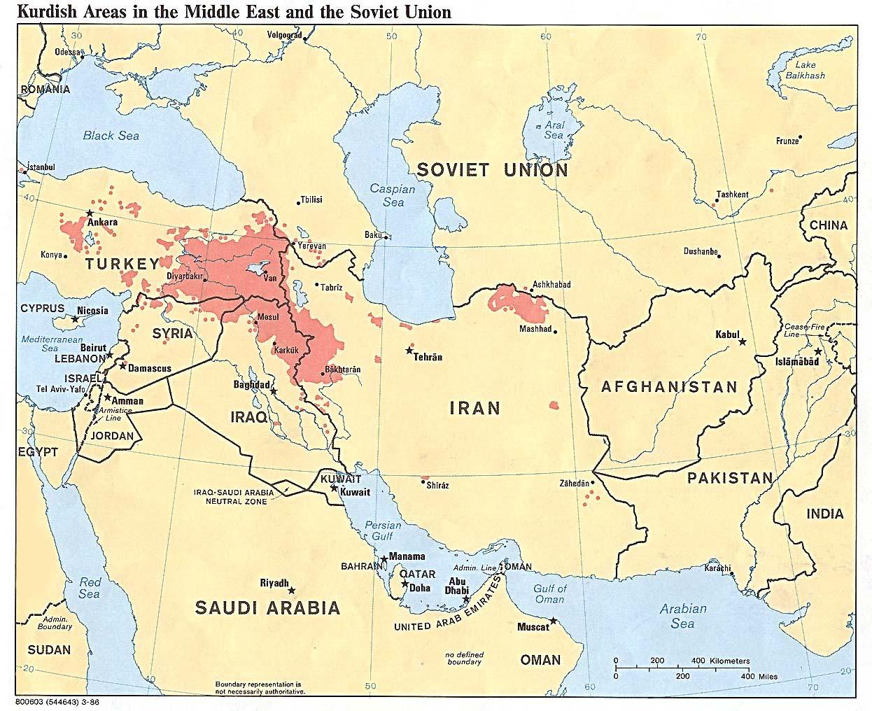 Los mapas del Medio Oriente sern distintos Kurdistn  Por Israel