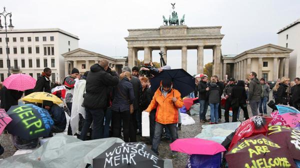 Alemania recibió más de un millón de refugiados en 2015.