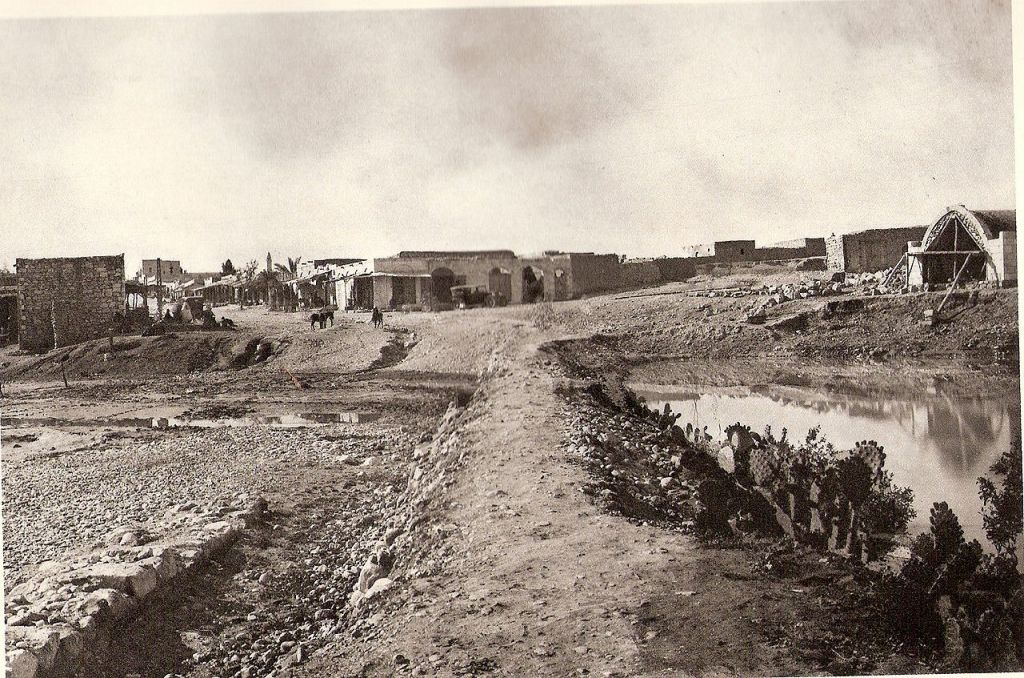 A photograph of Beersheba in the 1920s. (Ludwig Preiss/Wikimedia)