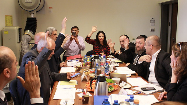 Ayelet Shaked in the committee
