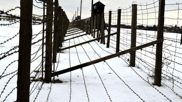 Alambrado del campo de exterminio Majdanek