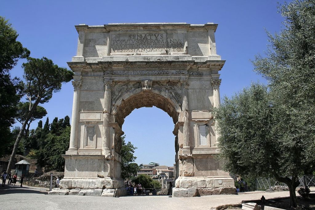 The Arch of Titus. (Wikimedia commons/Cassius Ahenobarbus)
