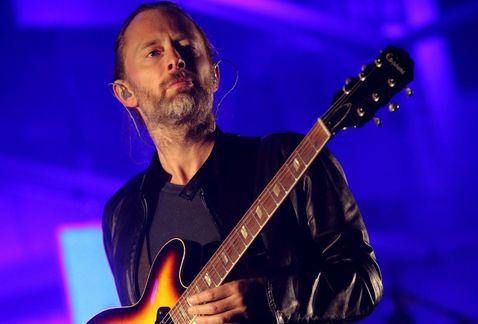 Resultado de imagen de El vocalista de Radiohead, Thom Yorke