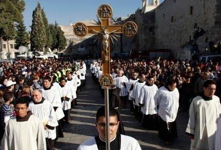 Resultado de imagen de cristianos en Israel imagenes