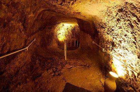 Túneles en la Ciudad de David, en Jerusalén (Turismo Israel)