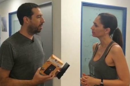 Marcon Berman, director de Marketing de Walabot, recibió a Infobae en Israel y mostró los adelantos tecnológicos