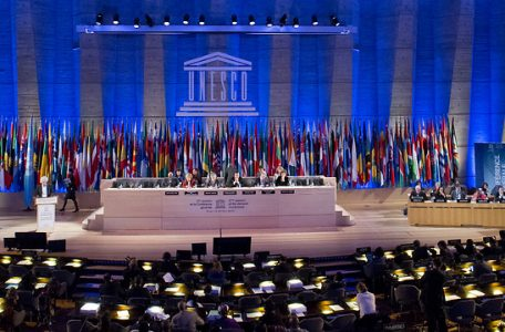 UNESCO's General Conference saw a nearly four-hour filibuster (Photo: AP)