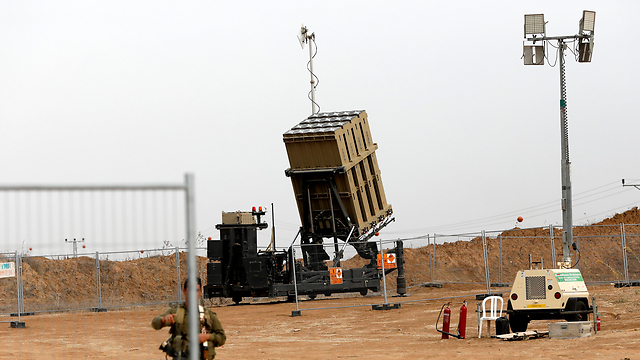 Iron Dome near Gaza border (Photo: EPA)