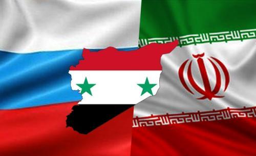 Resultado de imagen de banderas siria y rusa imagenes