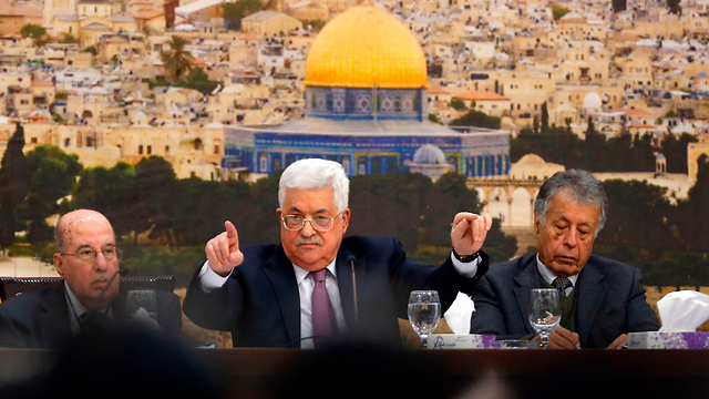 Abbas.  Una víctima del increíble éxito de la propaganda palestina (Foto: AFP)