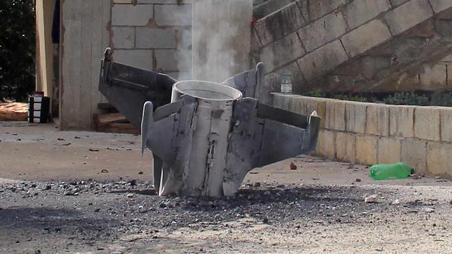 Los remanentes de un misil sirio que aterrizó en Israel. Las reglas del juego están cambiando (Foto: AFP)