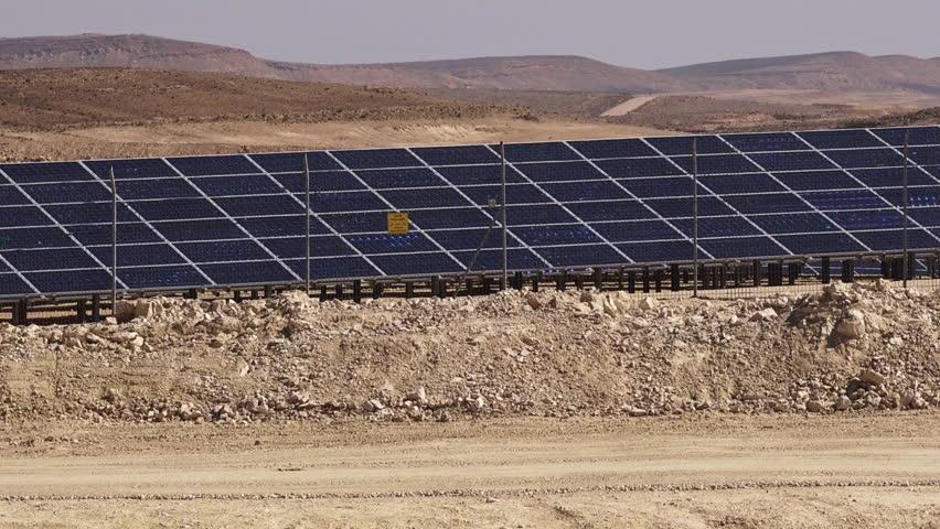Resultado de imagen de Imagenes de paneles solares en el negev Negev
