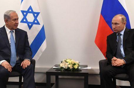 Netanyahu and Putin in January (Photo: Kobi Gideon/GPO)