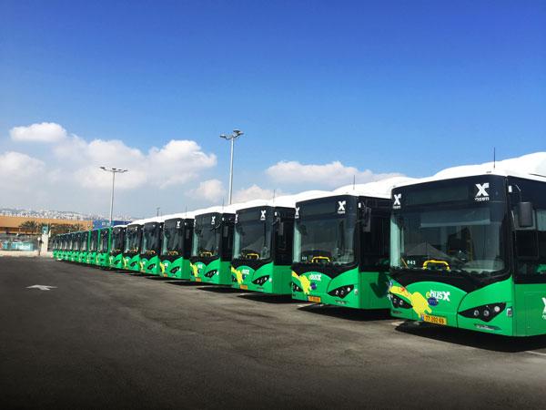 Israel con más buses eléctricos de China BYD | Por Israel