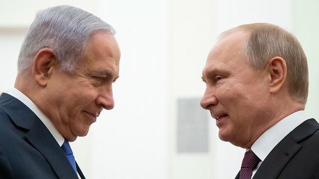 Benjamin Netanyahu se encuentra con Vladimir Putin (Foto: EPA)