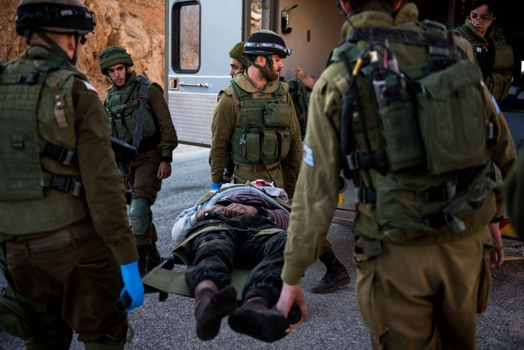 Sirio herido, atendido en Israel