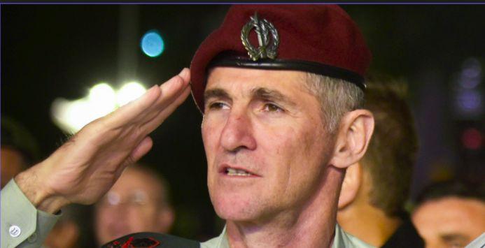 Yair Golan, General hoy ya retirado, en aquel momento -jefe del Comando Norte del ejército israelí
