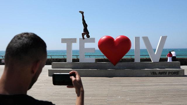 Pueblo de Eurovisión en Tel Aviv (Foto: EPA)